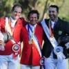 Oro y plata para Chile en Salto Ecuestre Individual